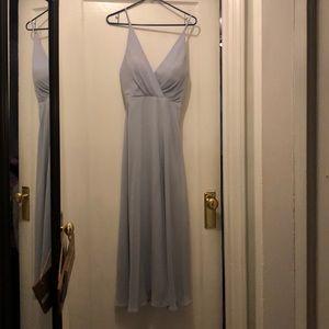 Jenny Yoo Dusty Blue Bridesmaid Dress